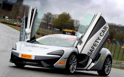 McLaren official partner British GT