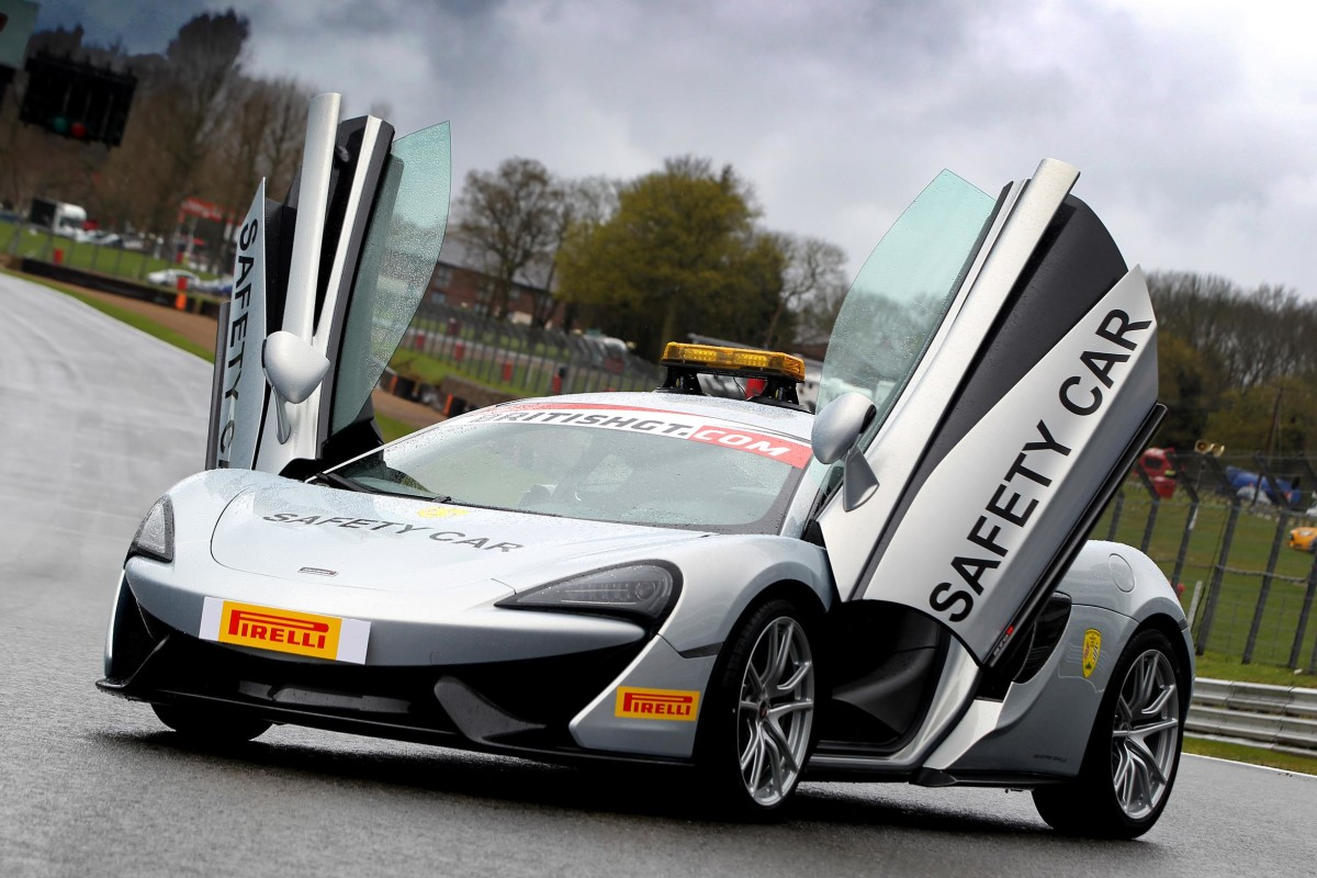 McLaren official partner British GT