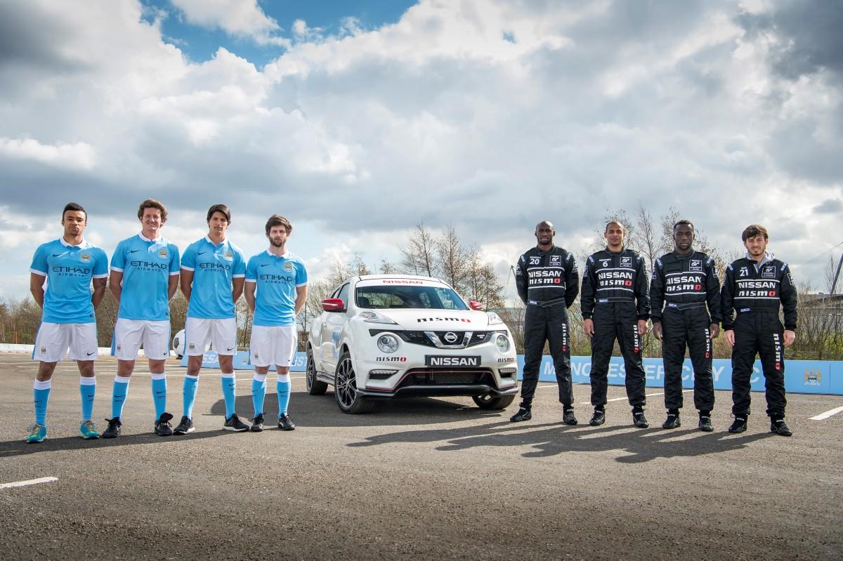 Calciatori diventano piloti per Nissan