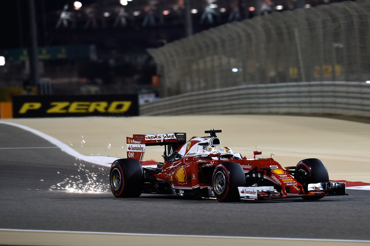 Bahrain: seconda fila promettente per la Ferrari