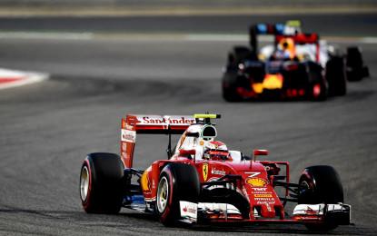 Bahrain: Kimi sul podio e il punto Ferrari