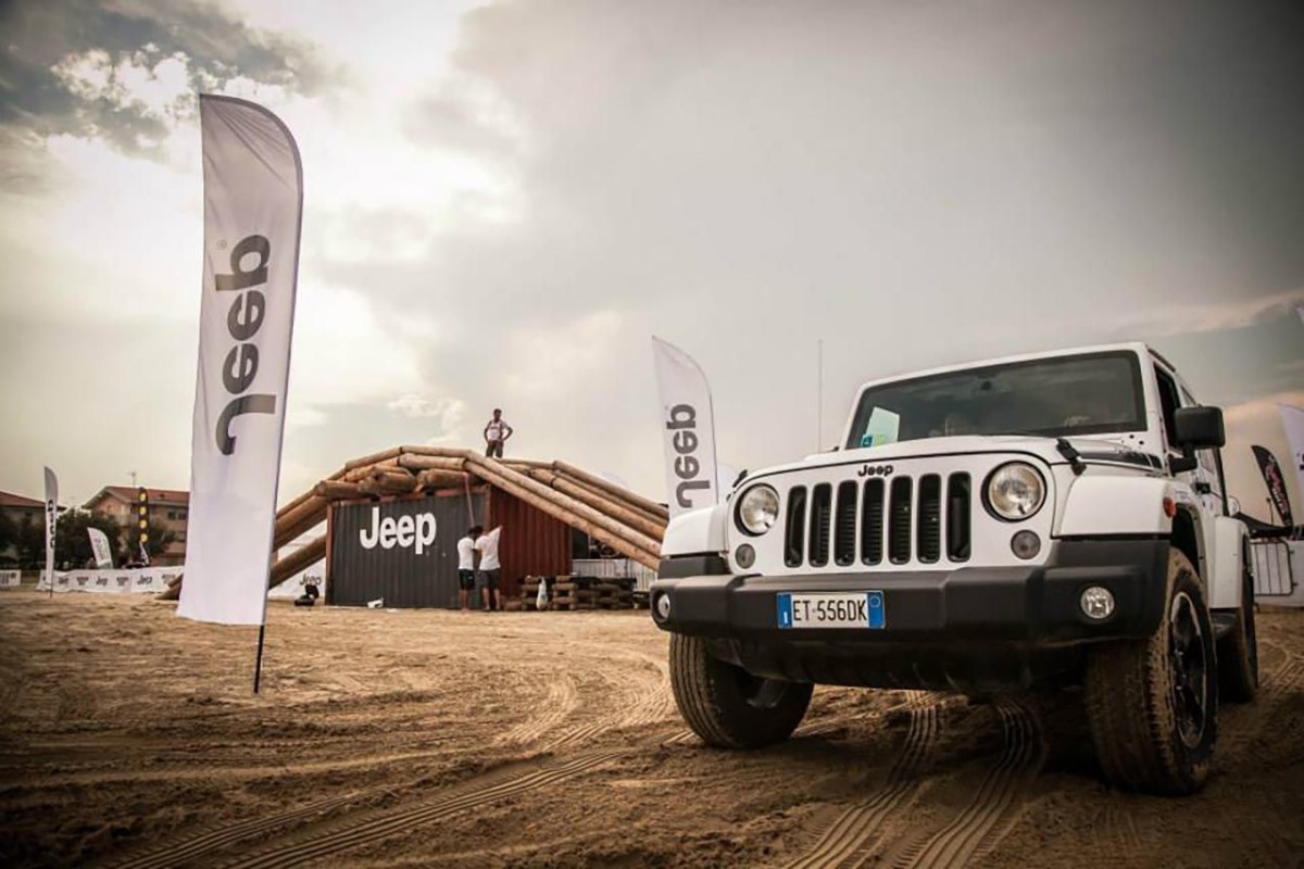 "Jeep e ""Radio Deejay Xmasters-Action Sport Music Show"""
