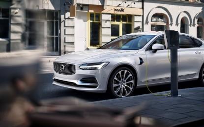 Volvo: 1 milioni di auto elettrificate entro il 2025