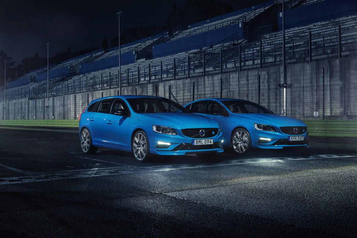 Volvo S60 e V60 Polestar con motore da 367 CV