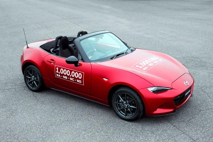 Mazda produce la milionesima MX-5