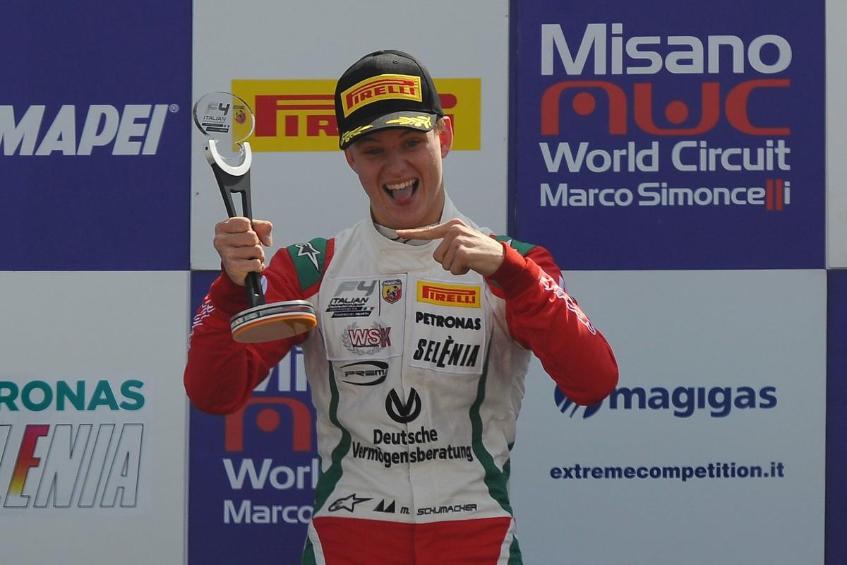 F4: Mick Schumacher conquista Misano
