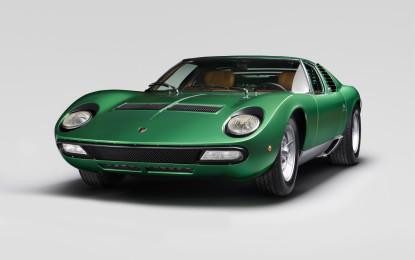 Lamborghini: mostra per i 50 anni della Miura