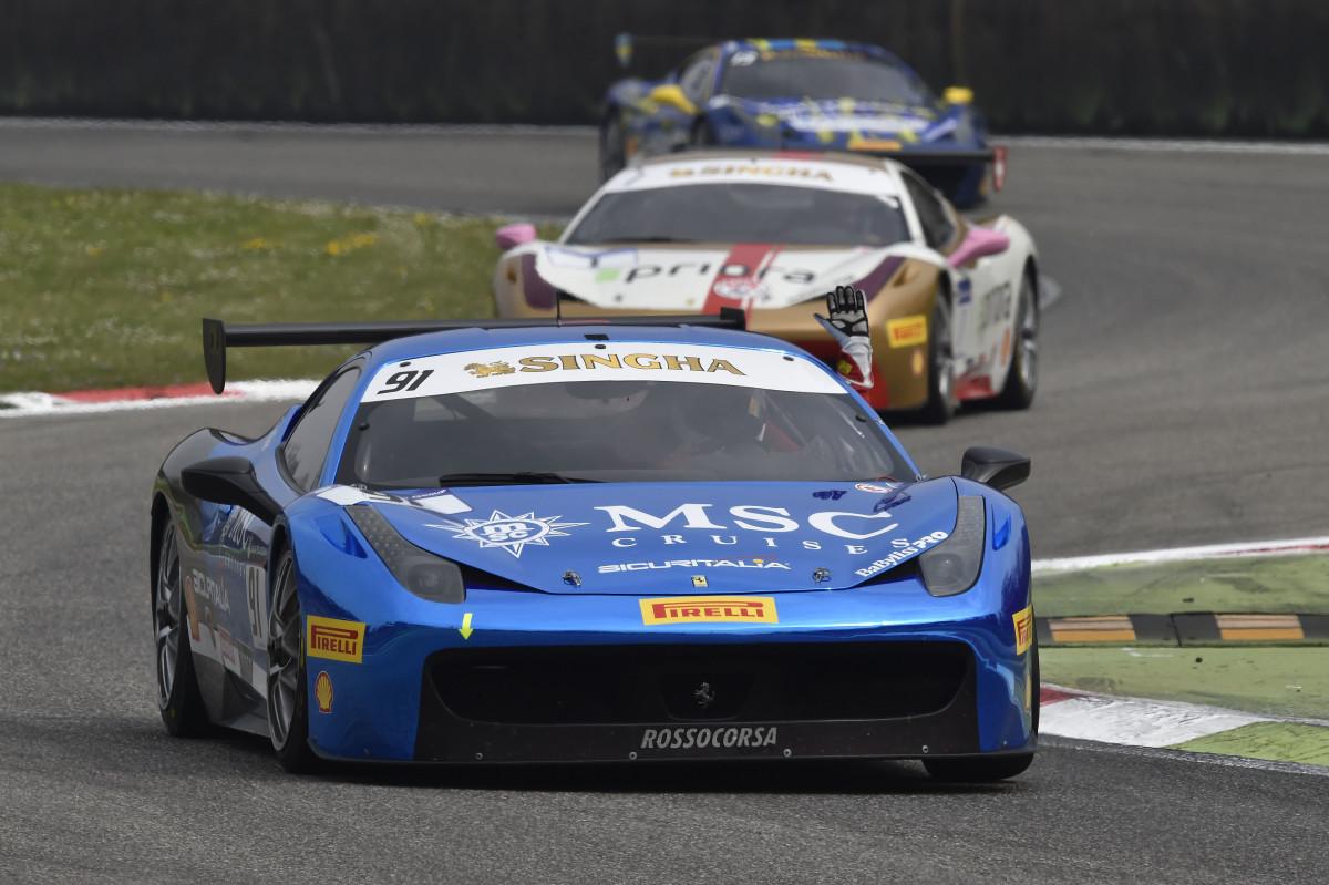 La domenica del Ferrari Challenge a Monza