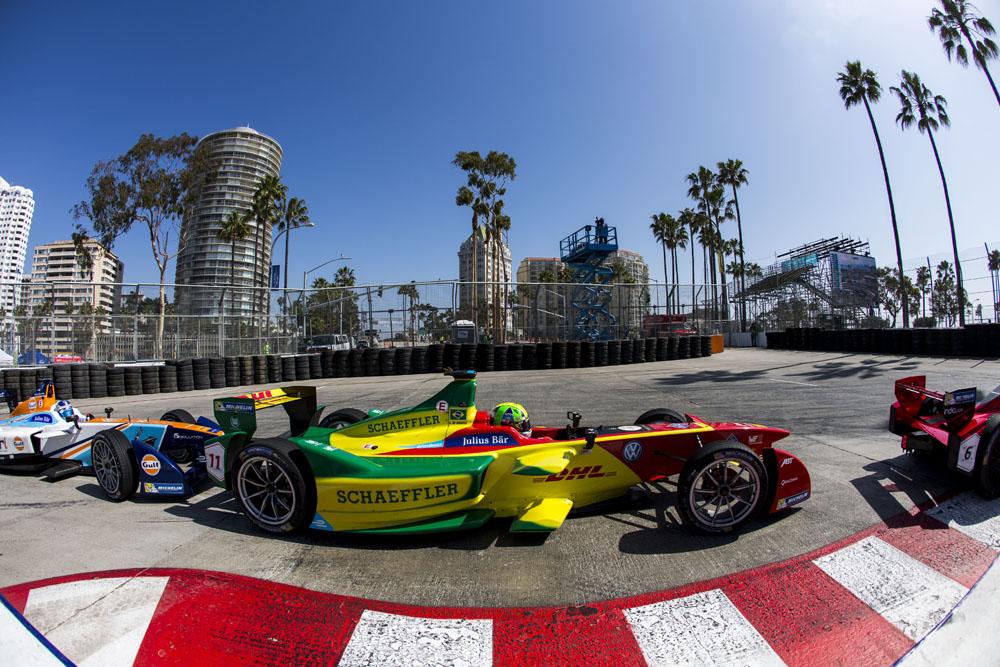 Formula E: Di Grassi vince a Long Beach