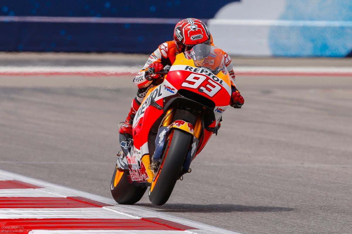 GP delle Americhe: pole e strapotere di Marquez
