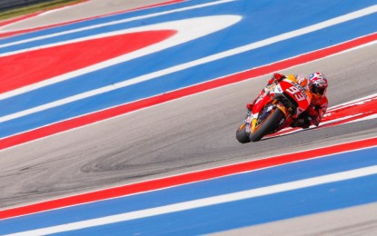 MotoGP: 4° vittoria di Marquez in Texas. Rossi cade