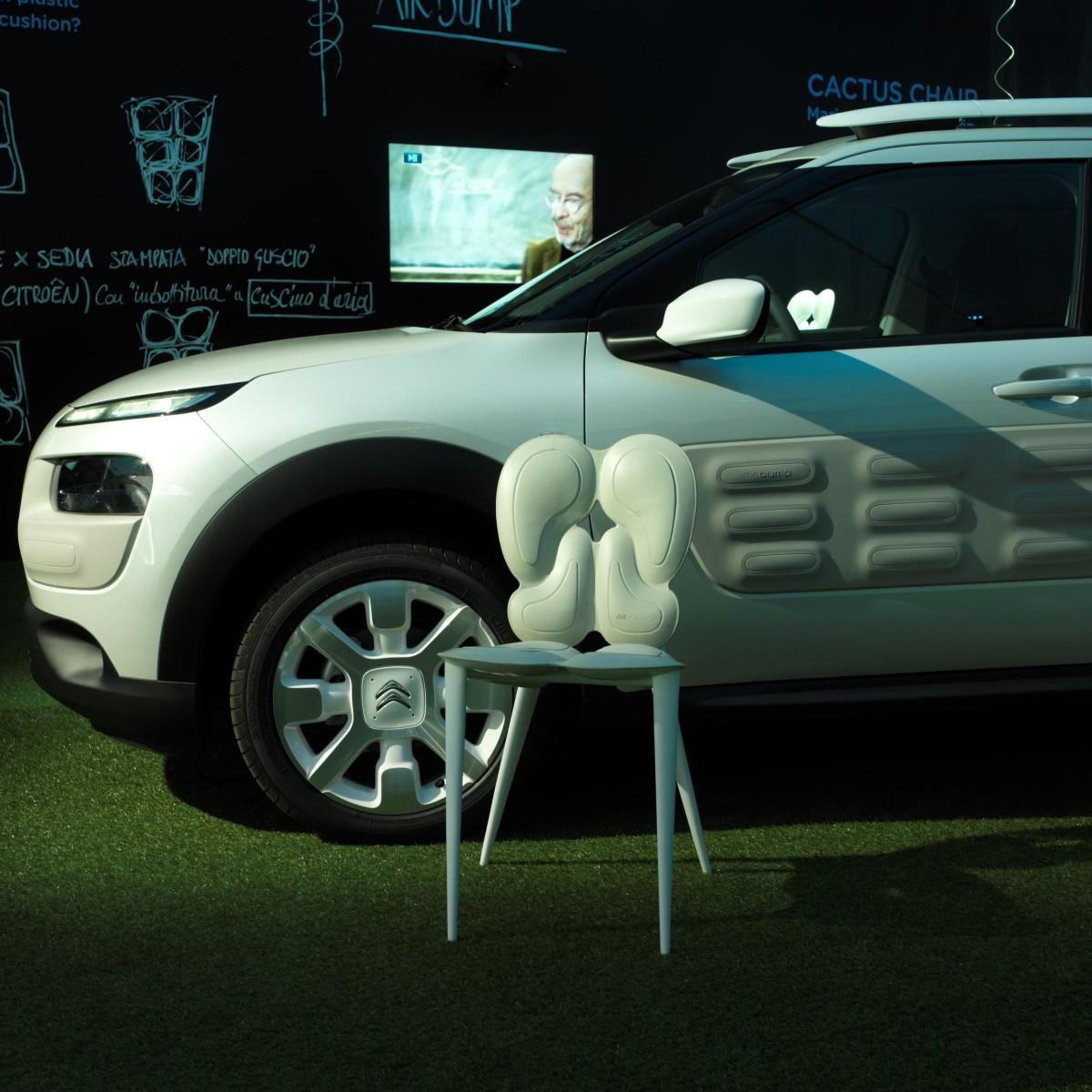 Citroën: dagli Airbump a Cactus Chair
