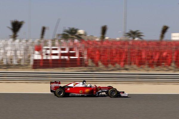 Bahrain: Seb e Kimi davanti a tutti in FP3