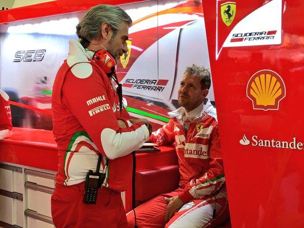 Russia: 5 posizioni in meno per Vettel