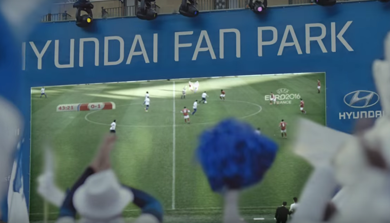 Hyundai porta i Real Fans a Euro 2016