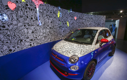 "Fiat 500 Pepsi ""Live for Now"" by Garage Italia Customs"