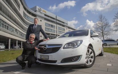 Opel Insignia da record!
