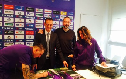 La Fiorentina per Fondazione ANT