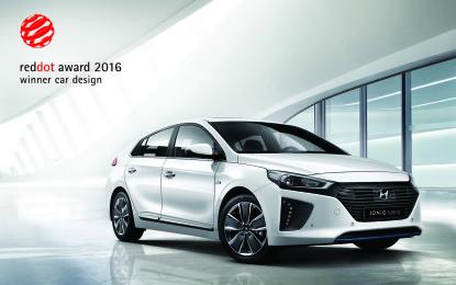 Hyundai IONIQ vince il Red Dot Design Award