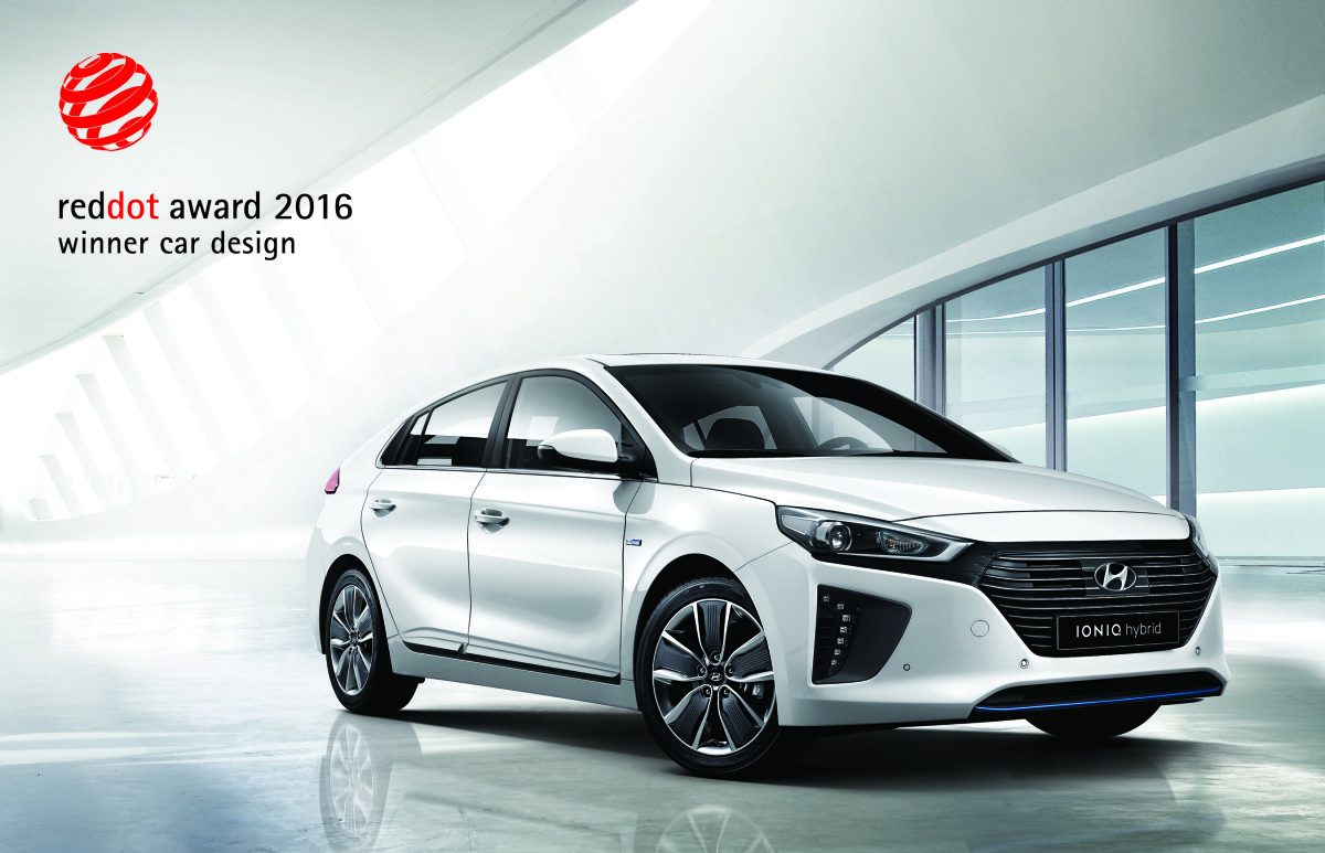 Hyundai IONIQ vince il Red Dot Design Award
