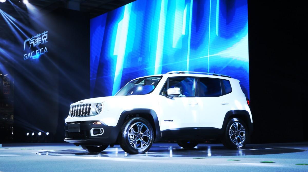 Jeep Renegade: inizia la produzione a Guangzhou