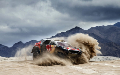 Silk Way Rally: tre Peugeot 2008 DKR da Mosca a Pechino