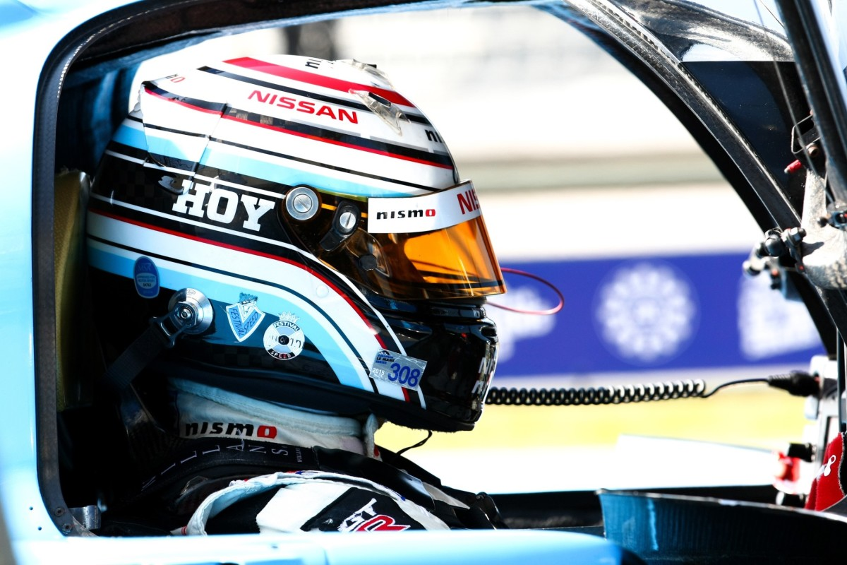 Nissan a Le Mans con la leggenda Sir Chris Hoy