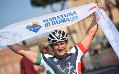 Zanardi vince la Maratona di Roma