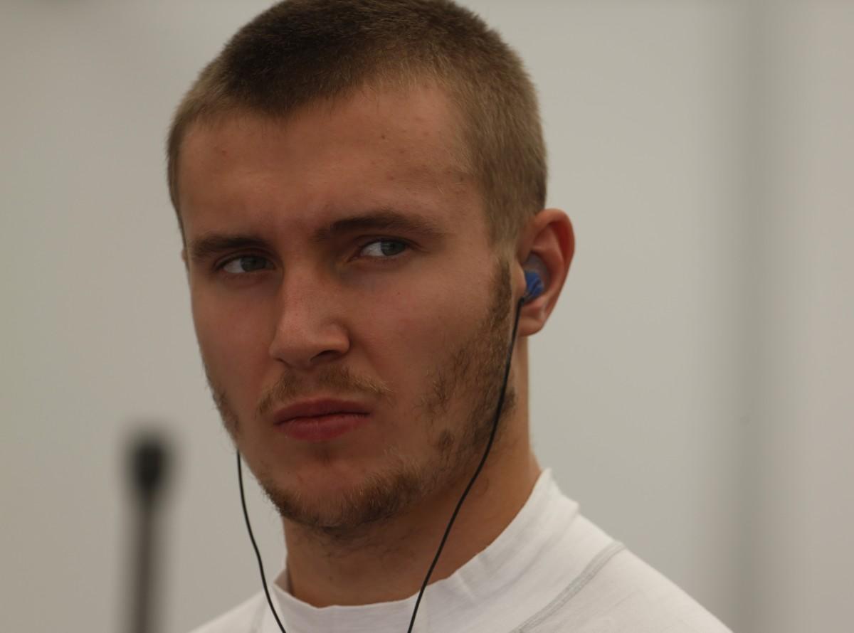 Sergey Sirotkin collaudatore Renault F1