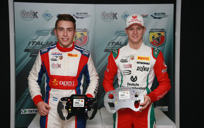 F4: pole per Siebert e Schumacher