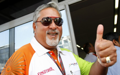 Arrestato a Londra il boss Force India Vijay Mallya