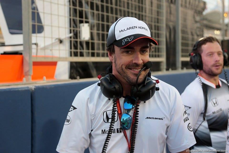 Alonso già in Cina, pronto a correre