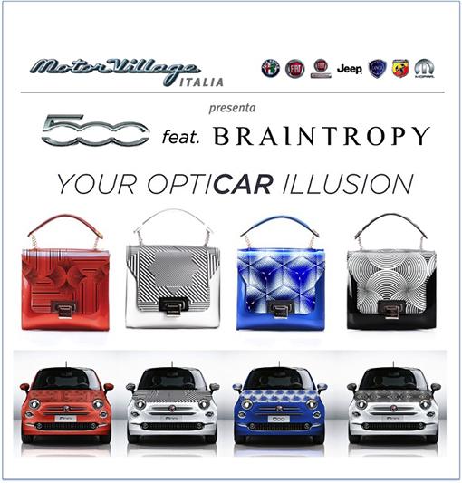 "Motor Village Italia e Braintropy ""Your Opticar Illusion"""