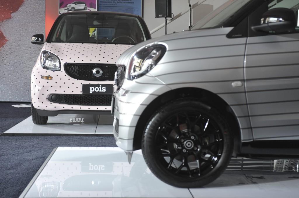 La prima smart Garage Italia Collection