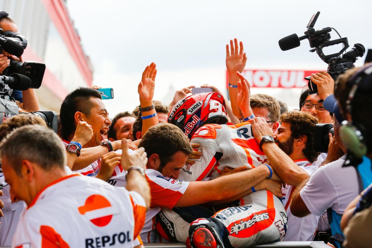 Argentina: Marquez, Rossi, Pedrosa. E caos Ducati