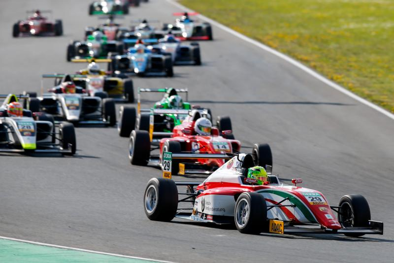 ADAC F4: victory for Schumacher in third race