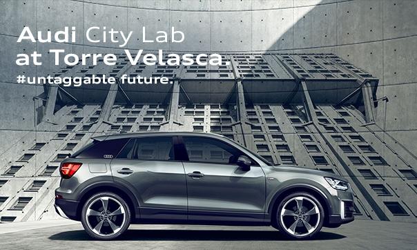 Q2 in anteprima nazionale all' Audi City Lab