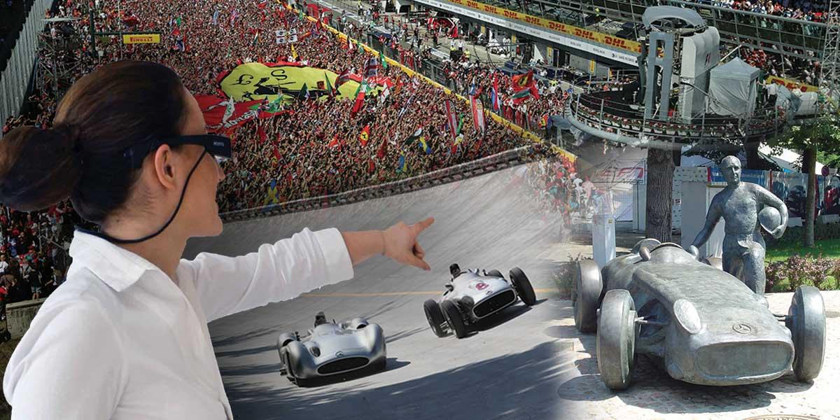 Vivere Monza con l'Augmented Reality Tour
