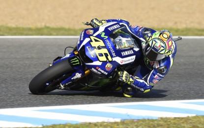 MotoGP: Rossi strappa pole (e applausi) a Jerez