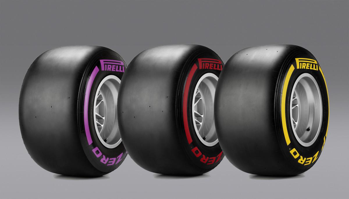 Austria: Pirelli annuncia mescole e set
