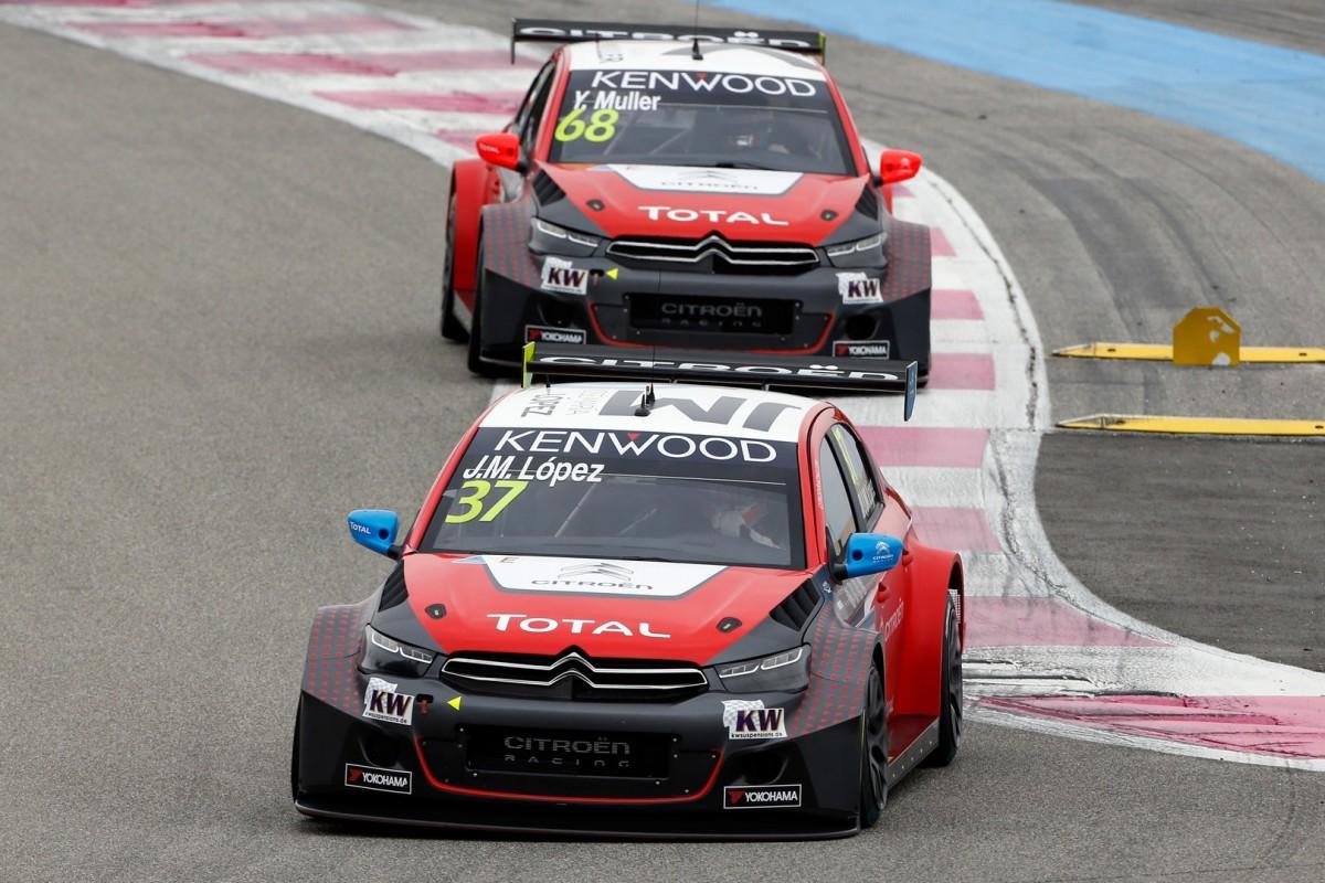 WTCC: vittoria importante per Citroën Total