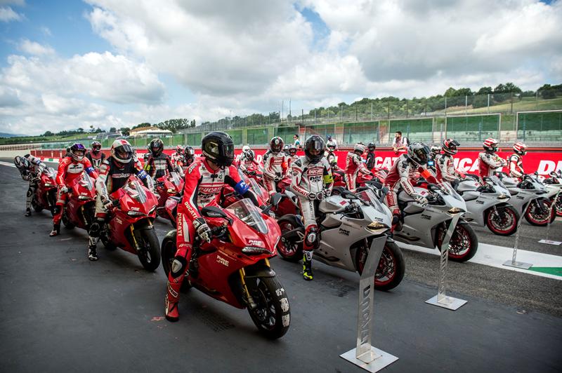 Al WDW2016 turni in pista con la propria Ducati