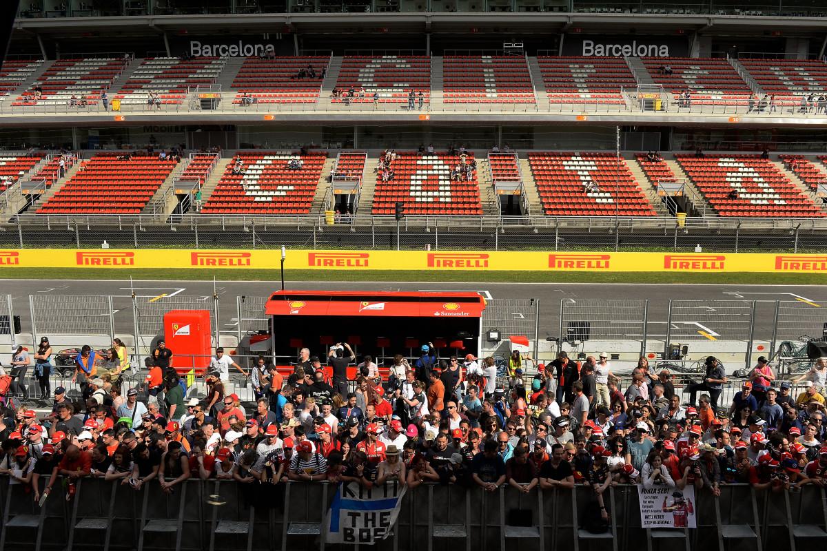Spagna: il giovedì tecnico di Ferrari e Mercedes