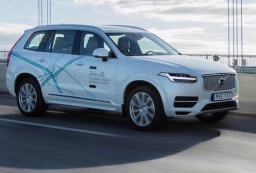 Volvo: test guida autonoma a Londra