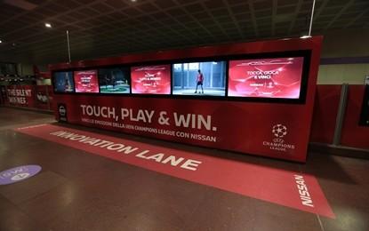 Garibaldi FS Nissan si trasforma per la Finale Champions