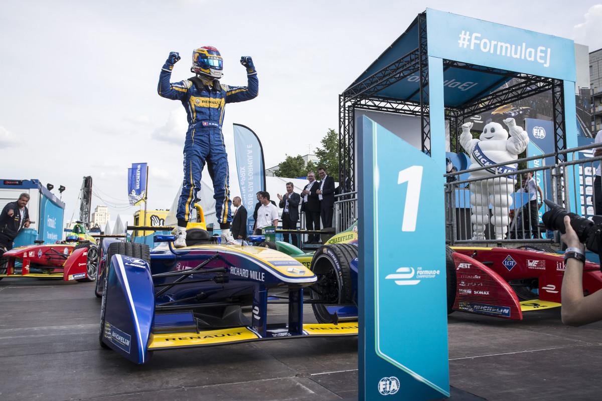 Formula E: Buemi wins the Berlin ePrix