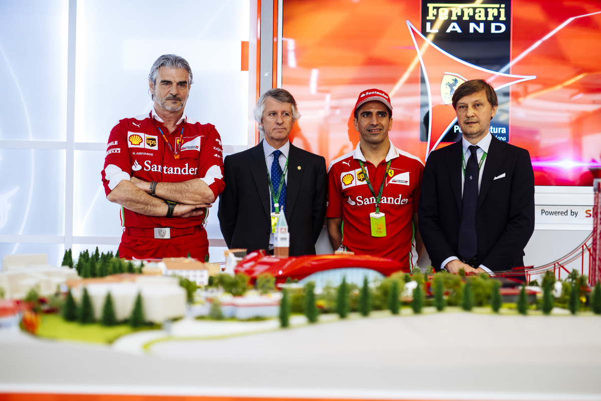 Ferrari Land svelata a Barcellona