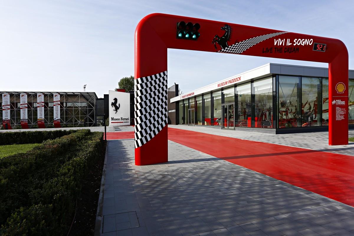 Visita ai Musei Ferrari con Google Street View