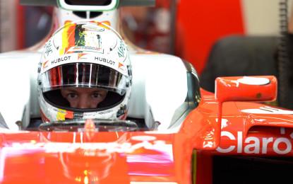 Test F1: miglior tempo per Vettel a fine giornata