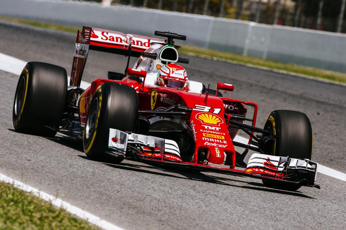 Test F1: ottimo debutto di Fuoco con la SF16-H